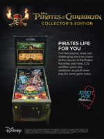 Pirates of the Caribbean (pinball) — 2018 at Barcade® in Highland Park, Los Angeles, California | Game flyer graphic