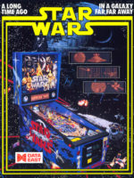 Star Wars (pinball) — 1992 at Barcade® in Highland Park, Los Angeles, California | Game flyer graphic