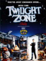 Twilight Zone (pinball) — 1993 at Barcade® in Highland Park, Los Angeles, California | Game flyer graphic