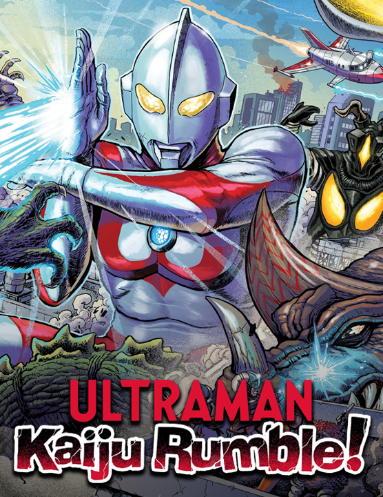 Ultraman — 2021 at Barcade® in Los Angeles, CA | arcade video game flyer graphic