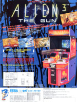 Alien 3: The Gun — 1993 at Barcade® in Highland Park, Los Angeles, California | Game flyer graphic