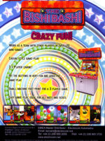 The Bishi Bashi — 2009 at Barcade® in Highland Park, Los Angeles, California | Game flyer graphic