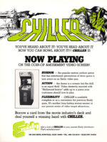 Chiller — 1986 at Barcade® in Highland Park, Los Angeles, California | Game flyer graphic