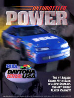 Daytona USA Special Edition — 1996 at Barcade® in Highland Park, Los Angeles, California | Game flyer graphic