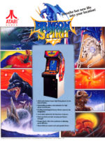 Dragon Spirit — 1987 at Barcade® in Highland Park, Los Angeles, California | Game flyer graphic