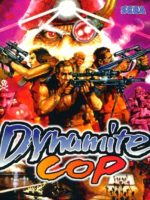 Dynamite Cop — 1998 at Barcade® in Highland Park, Los Angeles, California | Game flyer graphic