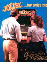 Joust — 1982 at Barcade® in Highland Park, Los Angeles, California | Game flyer graphic