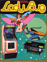 Lady Bug — 1981 at Barcade® in Highland Park, Los Angeles, California | Game flyer graphic
