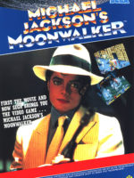 Michael Jackson's Moonwalker — 1990 at Barcade® in Highland Park, Los Angeles, California | Game flyer graphic