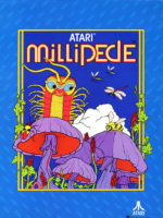 Millipede — 1982 at Barcade® in Highland Park, Los Angeles, California | Game flyer graphic