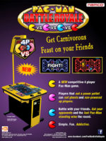 Pac-Man Battle Royale — 2010 at Barcade® in Highland Park, Los Angeles, California | Game flyer graphic