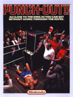 Punch-Out!! — 1984 at Barcade® in Highland Park, Los Angeles, California | Game flyer graphic