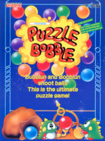 Puzzle Bobble — 1994 at Barcade® in Highland Park, Los Angeles, California | Game flyer graphic
