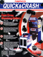 Quick & Crash — 1999 at Barcade® in Highland Park, Los Angeles, California | Game flyer graphic
