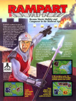 Rampart — 1990 at Barcade® in Highland Park, Los Angeles, California | Game flyer graphic