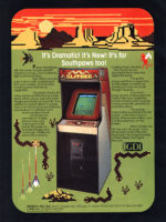 Slither — 1982 at Barcade® in Highland Park, Los Angeles, California | Game flyer graphic