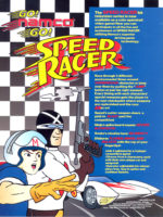 Speed Racer — 1995 at Barcade® in Highland Park, Los Angeles, California | Game flyer graphic