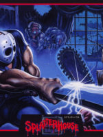 Splatterhouse — 1988 at Barcade® in Highland Park, Los Angeles, California | Game flyer graphic