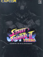 Super Street Fighter II Turbo — 1994 at Barcade® in Highland Park, Los Angeles, California | Game flyer graphic