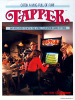 Tapper — 1984 at Barcade® in Highland Park, Los Angeles, California | Game flyer graphic