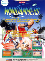 Windjammers — 1994 at Barcade® in Highland Park, Los Angeles, California | Game flyer graphic