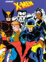 X-Men — 1992 at Barcade® in Highland Park, Los Angeles, California | Game flyer graphic