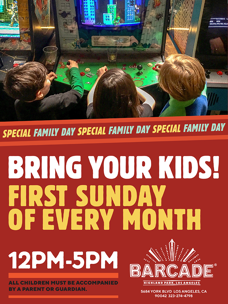 Family Day — First Sunday of every month 12pm to 5pm