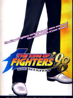 King Of Fighters '98: The Slugfest — 1998 at Barcade® in Highland Park, Los Angeles, California | Game flyer graphic
