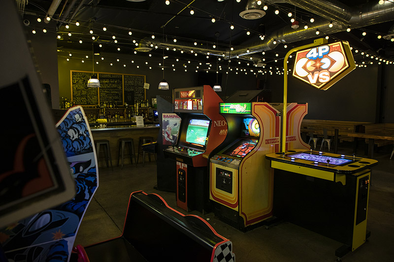 Barcade® Los Angeles, California in Hyland Park | photo of back game room
